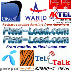 Recharge your mobile phone anytime from anywhere via Flexi-Load.com